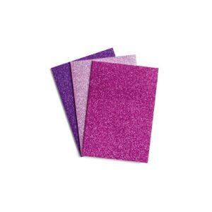 libreta purpurina