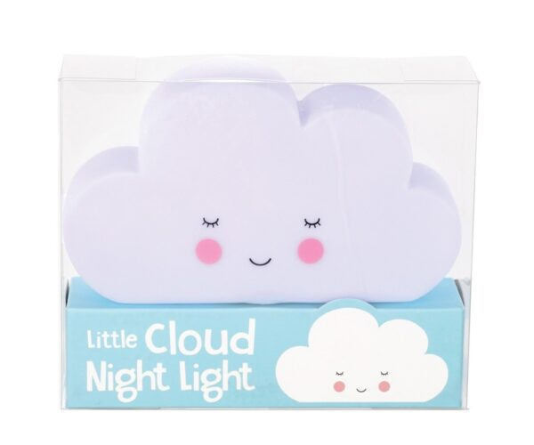 lampara nube infantil