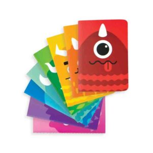 libreta infantil monsters
